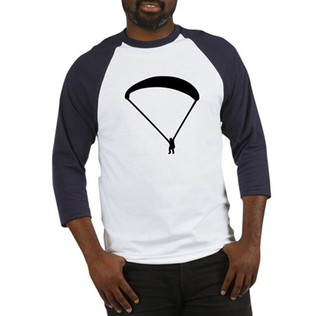 Parachute jumping Baseball Jersey