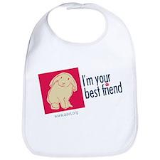 I'm Your Best Friend (Bunny) Bib
