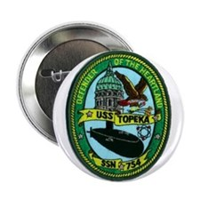 "USS TOPEKA 2.25"" Button"