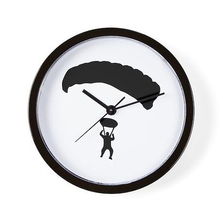 Skydiving Wall Clock
