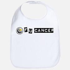 F U Cancer Dark Bib