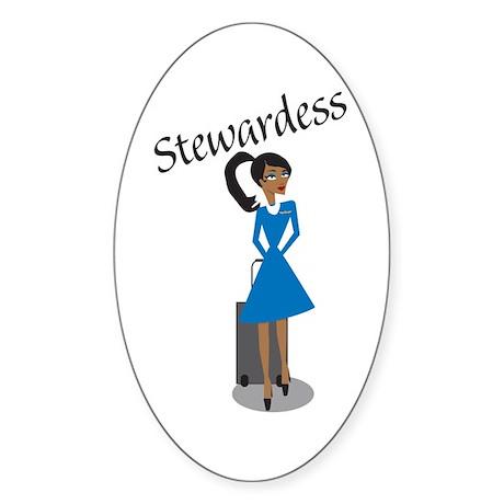 AA Gogo Stew Oval Sticker