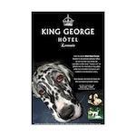 King George Hotel Poster Print