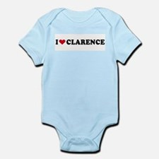 I LOVE CLARENCE ~  Infant Creeper