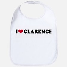 I LOVE CLARENCE ~  Bib