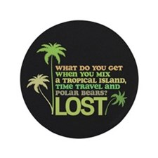 """Funny Lost 3.5"""" Button (100 pack)"""