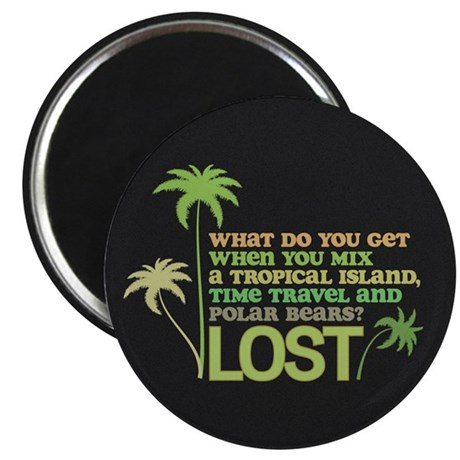 Funny Lost Magnet