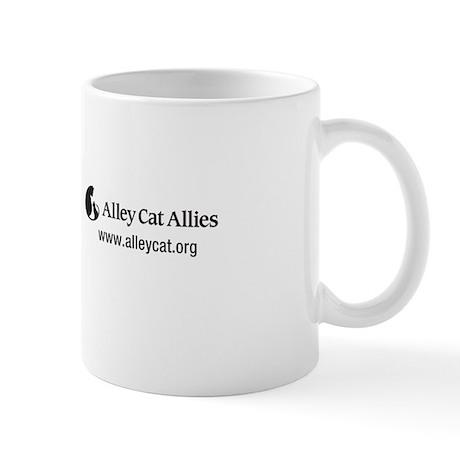 I Heart Feral Cats mug
