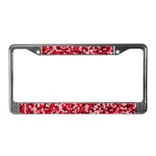 Valentine Candy Sprinkles License Plate Frame