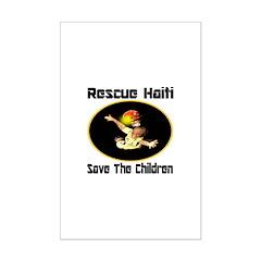 Rescue Haiti Posters