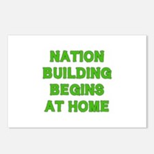 Nation Building Postcards (Package of 8)