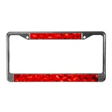 Red Valentine Candy License Plate Frame