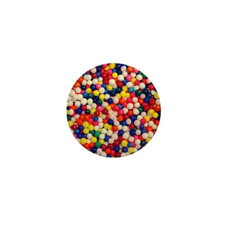 Candy Sprinkles Mini Button
