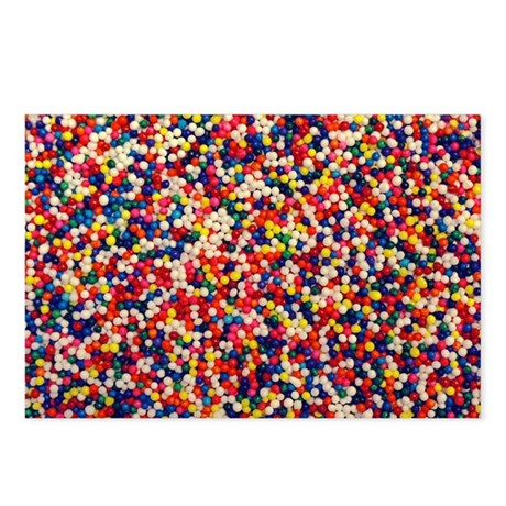 Candy Sprinkles Postcards (Package of 8)
