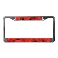 Heart Shaped Gumdrops License Plate Frame