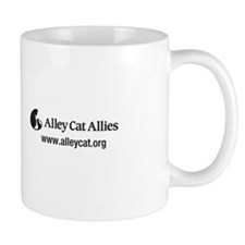 """My cats are eartipped"" Small Mug"