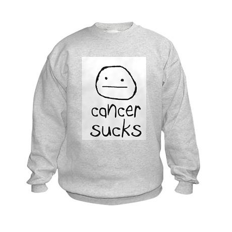 Cancer Sucks Kids Sweatshirt