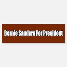 Bernie Sanders for President Bumper Bumper Bumper Sticker
