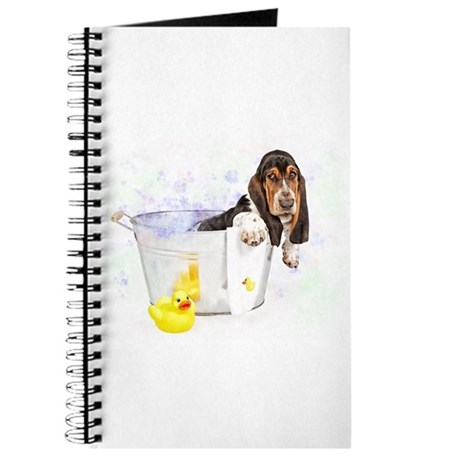 Bubble Bath Basset Journal