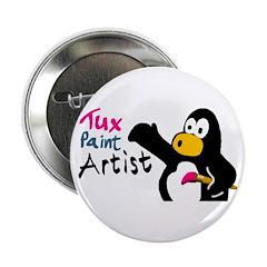 Tux Paint Artist button