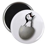 New Breed Software hatching penguin logo magnet