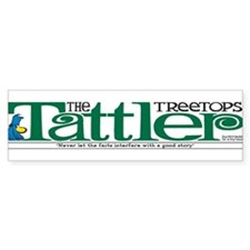 Treetops-Tattler Flag (Shoe) Bumper Sticker