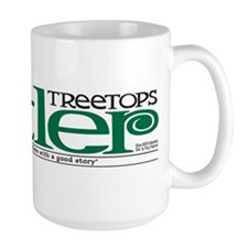 Treetops-Tattler Flag (Shoe) Large Mug