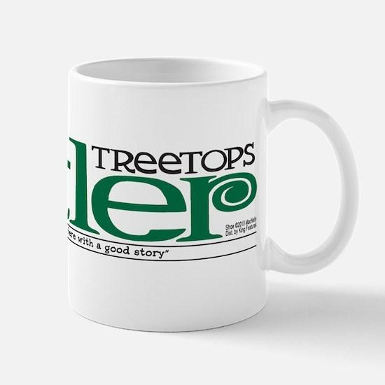 Treetops-Tattler Flag (Shoe) Mug