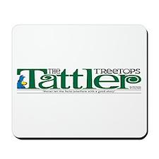 Treetops-Tattler Flag (Shoe) Mousepad