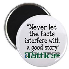 Never Let the Facts... (Shoe) Magnet