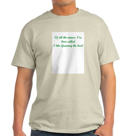 Name Grammy Light T-Shirt