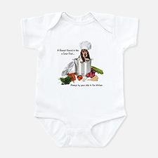 Basset Chef Infant Bodysuit