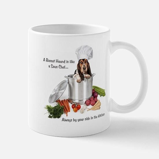 Basset Chef Mug
