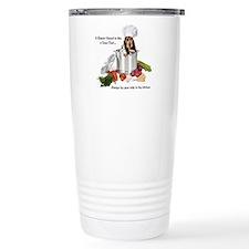 Basset Chef Travel Coffee Mug
