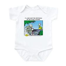 The Gentleman on the Floor Infant Bodysuit