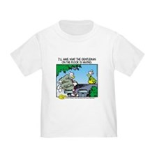 The Gentleman on the Floor Toddler T-Shirt
