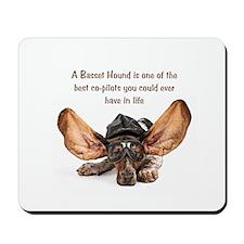 Basset Flying Mousepad