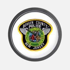 Bergen County Police Wall Clock