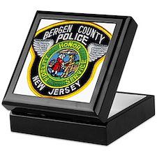 Bergen County Police Keepsake Box