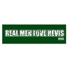 Real nem love revis - Bumper Bumper Sticker