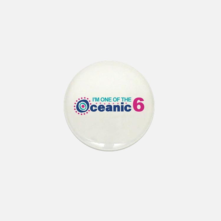I'm One of the Oceanic 6 Mini Button