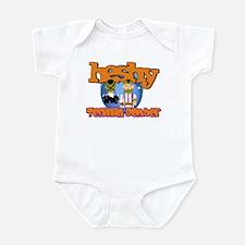 Tefillin Bomber Infant Bodysuit
