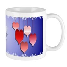 Hearts A Plenty shadowed Mug