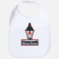 Bourbon St. Sign Bib