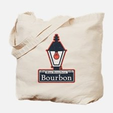 Bourbon St. Sign Tote Bag