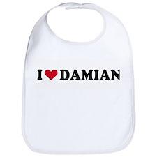 I LOVE DAMIAN ~  Bib