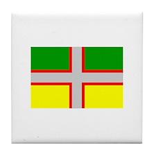 Saguenay-Lac-Saint-Jean Flag Tile Coaster
