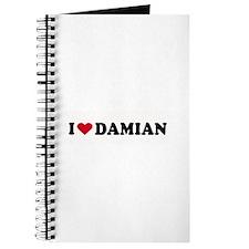 I LOVE DAMIAN ~ Journal