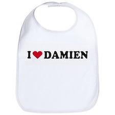 I LOVE DAMIEN ~  Bib