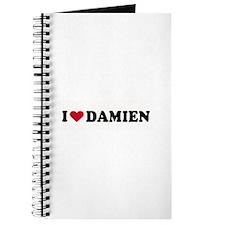 I LOVE DAMIEN ~ Journal